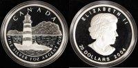 20 Dollar 2004 Canada Sambro Island PP/Zert./OVP  50,00 EUR  zzgl. 5,00 EUR Versand