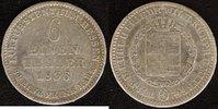 1/6 Taler 1836 Hessen-Kassel Wilhelm II. f.ss  20,00 EUR  zzgl. 5,00 EUR Versand