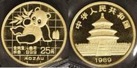 25 Yuan, 1/4 Unze 1989 China China Panda 1989 st  450,00 EUR kostenloser Versand