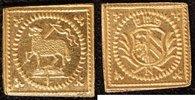 1/8 Dukatenklippe Lamm o.J.(1700) Nürnberg  vz-st  300,00 EUR  zzgl. 5,00 EUR Versand