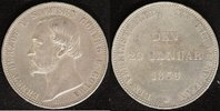 V-Taler 1869 Sachsen-Coburg-Gotha Ernst II. (1844-93) vzs-ss  200,00 EUR  zzgl. 5,00 EUR Versand