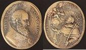 Bronze-Medaille vergoldet 1712 Vatikan Pius V. (1566-72) s-ss, Hksp  95,00 EUR  zzgl. 5,00 EUR Versand