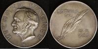 AG-Medaille 1933 Sachsen 50. Todestag von Richard Wagner vz  100,00 EUR  zzgl. 5,00 EUR Versand