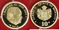10 Euro 2005 Monaco 10 Euro Monaco 2005 PP P.P.  215,00 EUR  zzgl. 5,00 EUR Versand