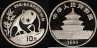 10 Yuan 1990 China Panda st in Kapsel  55,00 EUR  zzgl. 5,00 EUR Versand
