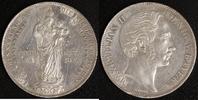 D-Gulden 1855 Bayern Max II. Joseph ss, Kratzer  35,00 EUR  zzgl. 5,00 EUR Versand