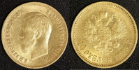 10 Rubel 1899 Russland Nikolaus II.   400,00 EUR kostenloser Versand