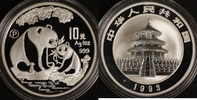 10 Yuan 1993 China Panda P.P.  170,00 EUR  zzgl. 5,00 EUR Versand