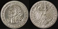 3 Mark 1928 Weimar A. Dürer vz, kl.Rf.  320,00 EUR  zzgl. 5,00 EUR Versand
