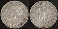 5 Mark 1933 A 3. Reich Martin Luther ss, Randfehler  50,00 EUR  zzgl. 5,00 EUR Versand