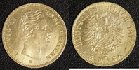 5 Mark 1877 Bayern Ludwig II. ss, Hksp.  220,00 EUR  zzgl. 5,00 EUR Versand