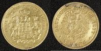 5 Mark 1877 Hamburg  verbogene Fassungsspur  250,00 EUR  zzgl. 5,00 EUR Versand