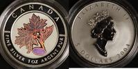 5 Dollars 2003 Canada Maple Leaf Kinegramm P.P.  50,00 EUR  zzgl. 5,00 EUR Versand