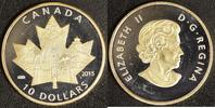 10 Dollar 2015 Kanada Celebrating PP, teilvergoldet  30,00 EUR  zzgl. 5,00 EUR Versand