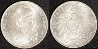 2 Mark 1911 Bayern Prinzregent Luitpold vz  20,00 EUR  zzgl. 5,00 EUR Versand