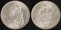 3 Mark 1911 Bayern Prinzregent Luitpold vz  20,00 EUR  zzgl. 5,00 EUR Versand