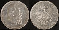 5 Mark 1911 Bayern Prinzregent Luitpold ss-vz, Kratzer  70,00 EUR  zzgl. 5,00 EUR Versand