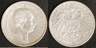 2 Mark 1908 Sachsen Friedirch August ss, Randfehler  45,00 EUR  zzgl. 5,00 EUR Versand