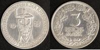 3 Mark 1925 A Weimar Rheinlande ss-vz, polliert  20,00 EUR  zzgl. 5,00 EUR Versand