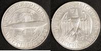 3 Mark 1930 D Weimar Zeppelin ss-vz  60,00 EUR  zzgl. 5,00 EUR Versand