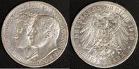 3 Mark 1910 Sachsen-Weimar-Eisenach Feodora ss-vz  60,00 EUR  zzgl. 5,00 EUR Versand