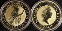 1 Dollar 1995 Australien 1 $ Kookaburra 1995 st, vergoldet st, vergoldet  30,00 EUR  zzgl. 5,00 EUR Versand