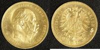 10 Mark 1873 A Preußen Wilhelm I. vz-st  290,00 EUR  zzgl. 5,00 EUR Versand