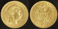 10 Mark 1900 Preußen Wilhelm I. ss  180,00 EUR  zzgl. 5,00 EUR Versand