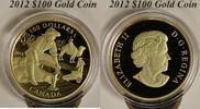 100 Dollar 2012 Kanada 100 $ 2012 Cariboo Goldrausch BU  750,00 EUR kostenloser Versand