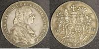1/2 Taler 1783 München Eichstätt Joh. Anton III. ss  250,00 EUR  zzgl. 5,00 EUR Versand