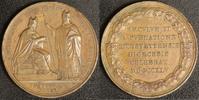 Bronzemedaille 1845 Eichstätt Carl August Graf von Reisach ss-vz, Rf.  35,00 EUR  zzgl. 5,00 EUR Versand