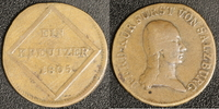 Kreuzer 1804 Salzburg Ferdinand (1803-06) ss  10,00 EUR  zzgl. 5,00 EUR Versand
