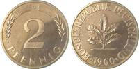 2 Pfennig 1960 G  1960G PP 100 Exemplare PP  195,00 EUR  +  8,00 EUR shipping
