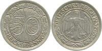 50 Pfennig 1932 E  1932E ss/vz ss  /  vz  128,00 EUR  +  8,50 EUR shipping