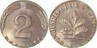 2 Pfennig  d 68G auf 1 Pfennig Rohling 2,03 Gr.!!!   148,00 EUR  +  8,00 EUR shipping