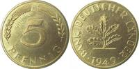 5 Pfennig 1949 F  1949F BDL PP. . .250 Exemplare   195,00 EUR kostenloser Versand