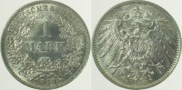 Kaiserreich  1893 E  1 Mark  1893E vz/st