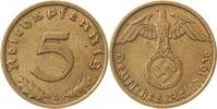 5 Pfennig 1936 A  1936A ss/vz ss  /  vz  105,00 EUR  +  10,00 EUR shipping