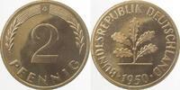 2 Pfennig 1950 G d 1950G PP 100 Exemplare PP  166,00 EUR  +  8,00 EUR shipping