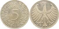 5 DM 1961 J  1961J bfr/stgl bfr  /  stgl  215,00 EUR  +  8,00 EUR shipping