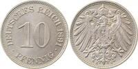 10 Pfennig 1891 E  1891E prfr/prfr/stgl!!   145,00 EUR  +  10,00 EUR shipping