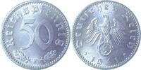 1941 F  50 Pfennig 1941F stgl/prfr/stgl   110,00 EUR