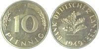 10 Pfennig 1949 J BRD 1949J BDL PP. . .250 Exemplare   135,00 EUR  +  8,00 EUR shipping