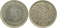 10 Pfennig 1899 D  1899D prfr/stgl prfr  /  stgl  110,00 EUR  +  8,50 EUR shipping