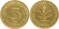 5 Pfennig 1968F PP 2000 Exemplare