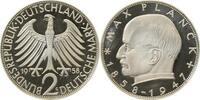 2 DM 1958 G BRD Max Planck 1958G PP 45 Ex !!! PP  875,00 EUR  +  8,00 EUR shipping