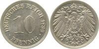 d 10 Pfennig 1899D f. prfr !!!