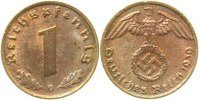 Drittes Reich    1Pfennig 39G starke Licht...