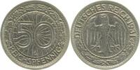 Weimarer Republik  1931 G  50 Pfennig  1931G ss/vz 425,00 EUR 
