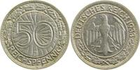 Weimarer Republik  1933 J  50 Pfennig  1933J f.vz 148,00 EUR 